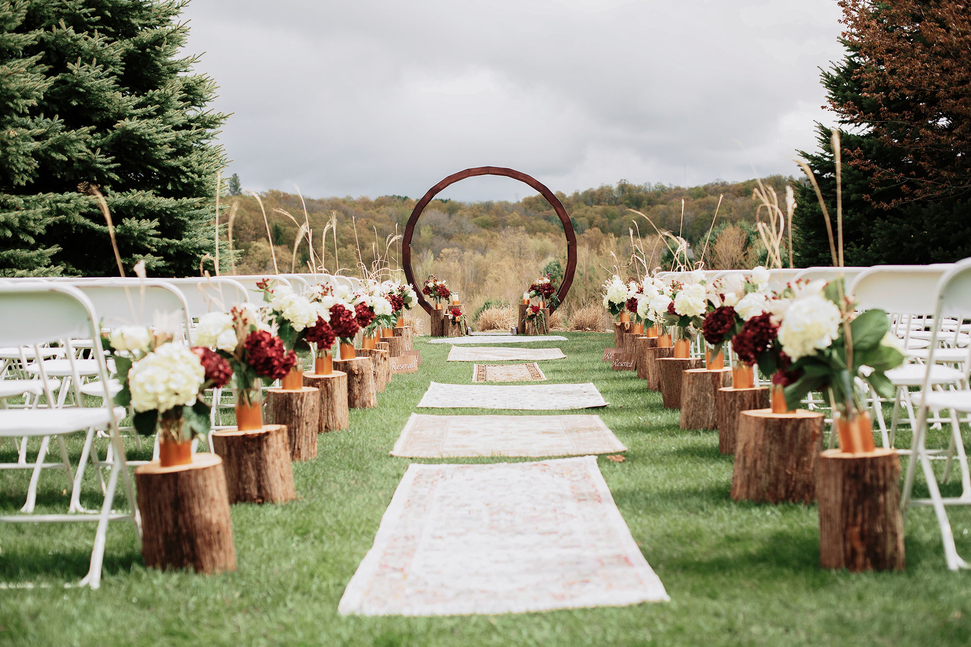 Timberlee Hills Wedding Ceremony