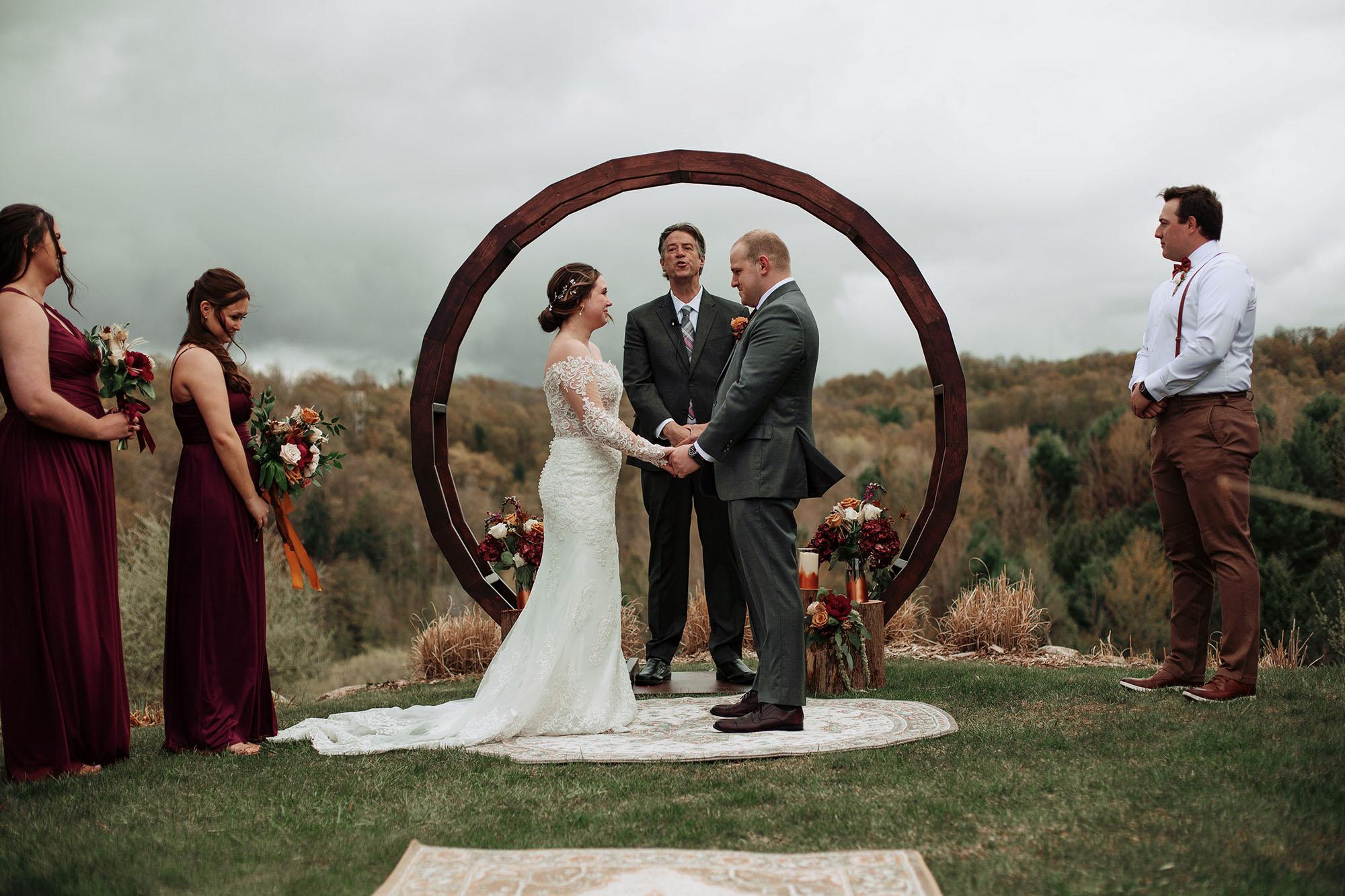 Timberlee Hills Wedding Couple