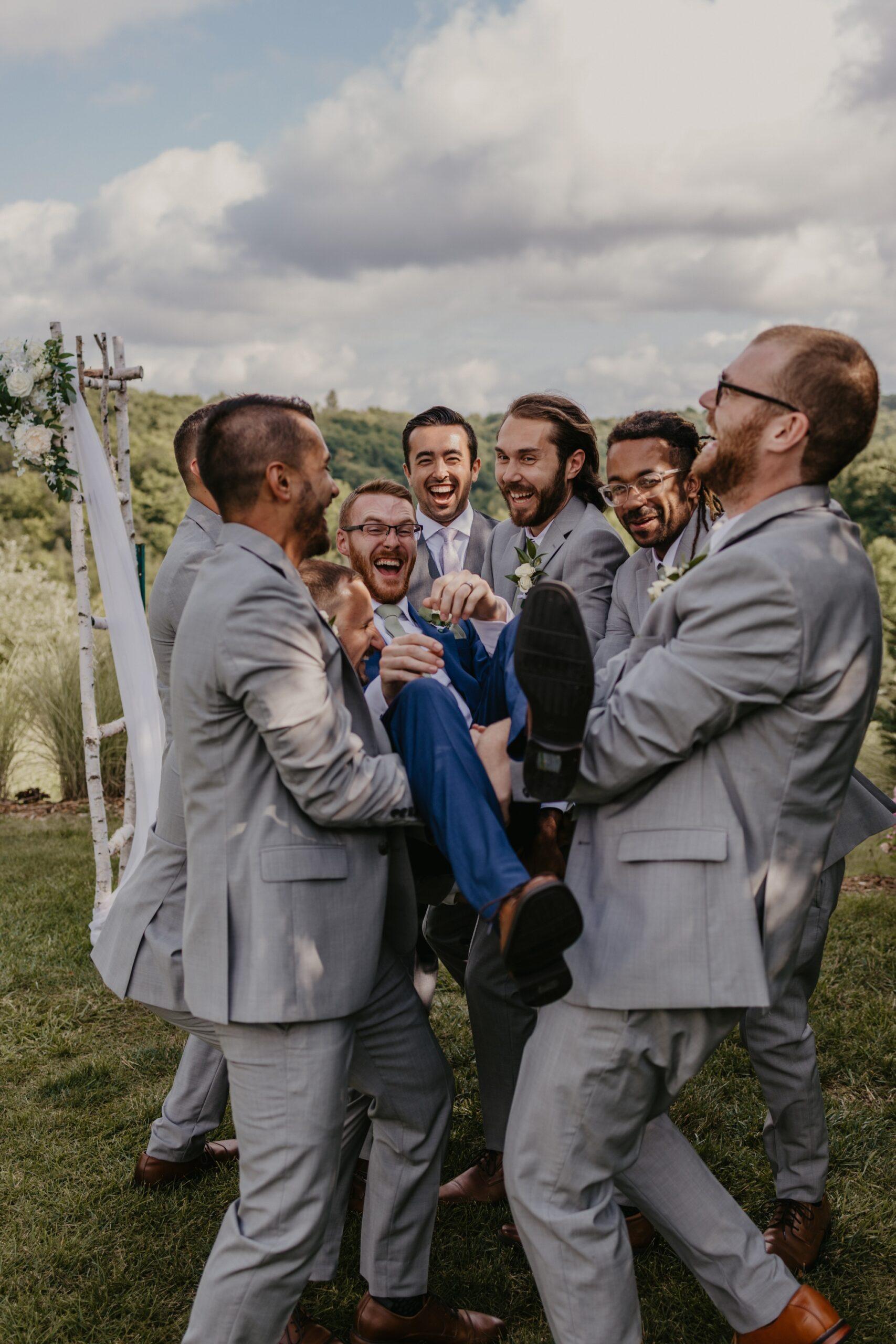 Bridal Party at Timberlee Hills Wedding